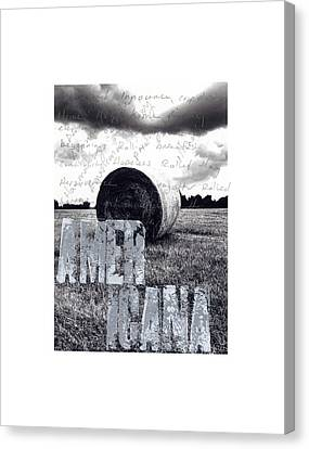 #socialques Americana Canvas Print by Steve Hartman