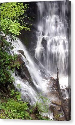 Soco Falls 2 Canvas Print by Marty Koch