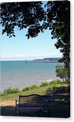 Sodus Point 1 Canvas Print by Peter Chilelli