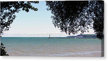 Sodus Point 7 Canvas Print by Peter Chilelli