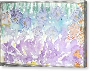 Soft And Pretty Canvas Print by Anne-Elizabeth Whiteway