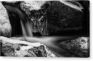 soft and sharp at the Bode, Harz Canvas Print