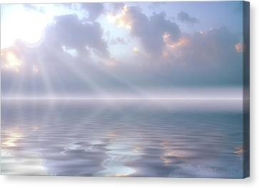 Soft And Sublime Canvas Print by Jerry McElroy