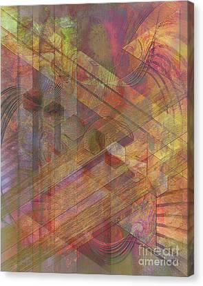 Soft Fantasia Canvas Print by John Beck