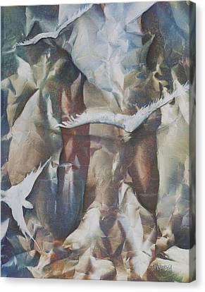 Soft Flight Canvas Print