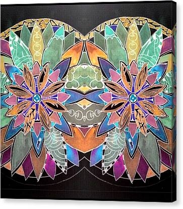 Soft Mandala Canvas Print