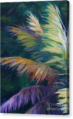 Soft Palm Canvas Print by John Clark