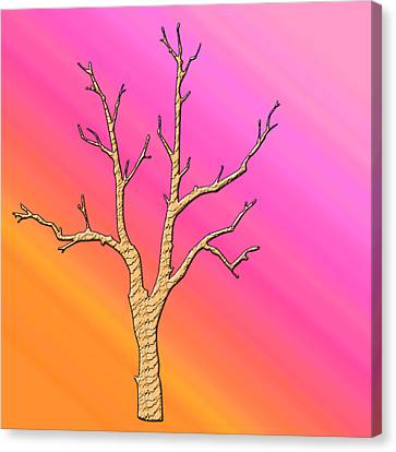Soft Pastel Tree Abstract Canvas Print by Aimee L Maher Photography and Art Visit ALMGallerydotcom