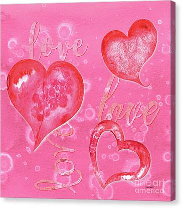Soft Valentine Canvas Print