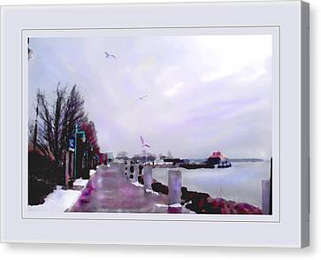 Canvas Print featuring the photograph Soft Winter Day by Felipe Adan Lerma
