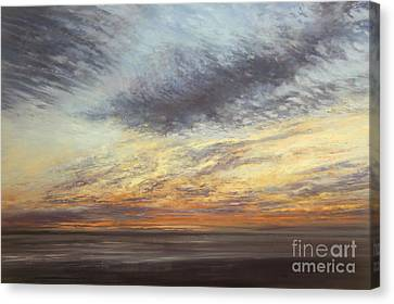 Softly, As I Leave You Canvas Print by Valerie Travers