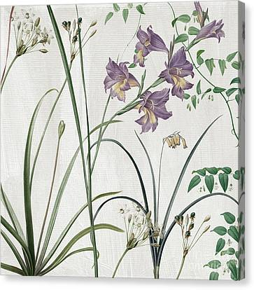Flower Art Canvas Print - Softly Purple Crocus by Mindy Sommers
