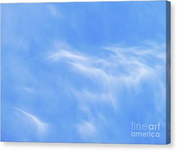 Softness Of Clouds Canvas Print by Terril Heilman