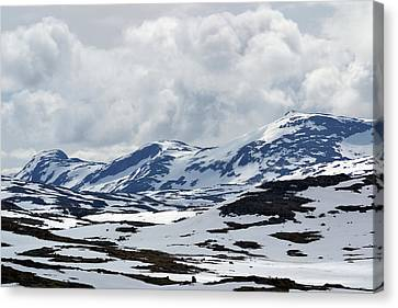 Sognefjell Mountain Canvas Print