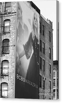 Soho Advertising Canvas Print