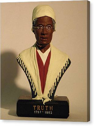 Sojourner Truth Canvas Print by Nijel Binns