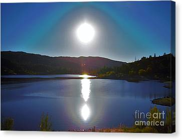 Sol / Soul Reflection Canvas Print by Eduardo Arambula