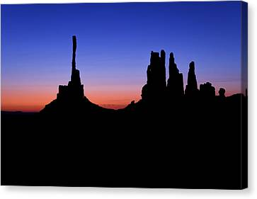 Monument Valley Canvas Print - Solace by Chad Dutson