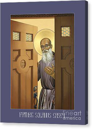 Solanus Casey - Lwvsc Canvas Print by Lewis Williams OFS