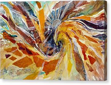 Solar Chakra Meditation Canvas Print