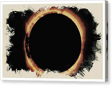 Canvas Print - Solar Eclipse 2017 3 by Celestial Images