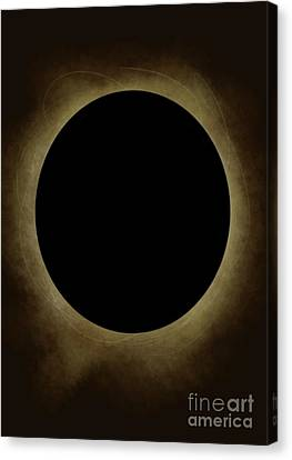 Solar Eclipse  Canvas Print by Emma Hardacre