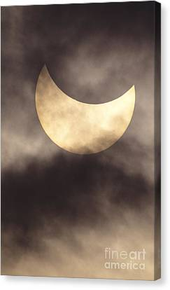 Solar Eclipse Canvas Print by Reggie David - Printscapes
