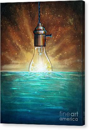 Incandescent Canvas Print - Solar Energy by Cindy Thornton