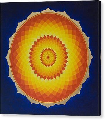 Solar Space Canvas Print