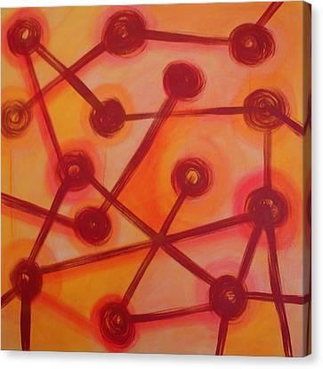 Canvas Print - Solar Vibrations by Maggie Hernandez