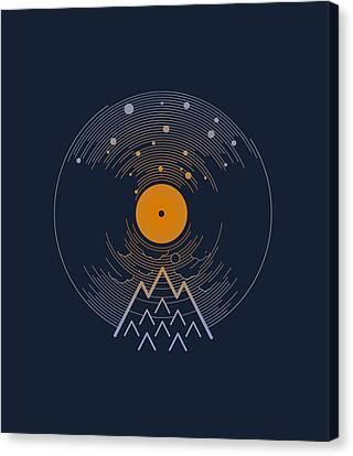 Solarec Canvas Print by Mustafa Akgul