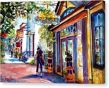 Solaris Grille Canvas Print
