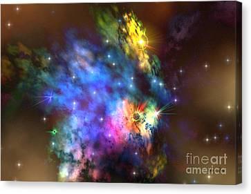 Solaris Nebula Canvas Print by Corey Ford