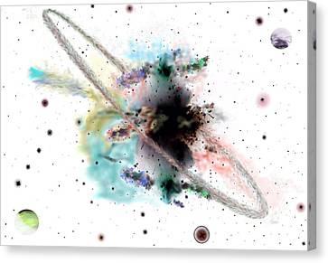 Solarized Mouse Neb Canvas Print