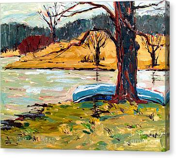 Sold Donnie Myers Pond Canvas Print