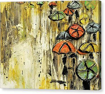 Sold Under The Weather Canvas Print by Amanda  Sanford