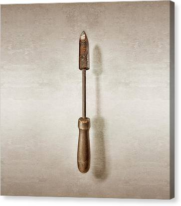 Soldering Iron Canvas Print by YoPedro