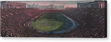 Soldier Field Canvas Print by American School