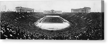 Soldier Field, Chicago, Illinois, Circa Canvas Print by Everett