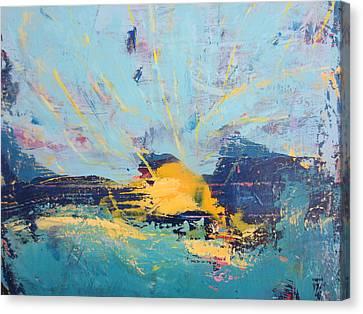 Soleil De Joie, Extrait Canvas Print