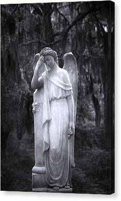 Solemn II Canvas Print by Mark Andrew Thomas