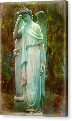 Solemn Canvas Print by Mark Andrew Thomas