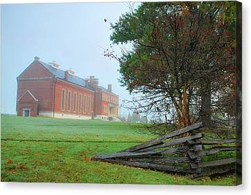 Solemn Morning - Fort Smith National Historic Site  Canvas Print by Gregory Ballos