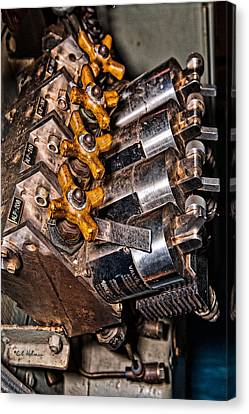 Solenoid Valves Canvas Print