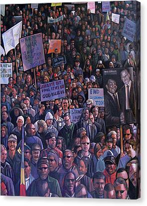 Solidarity Canvas Print by Curtis James