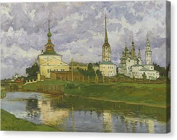 Solikamsk Canvas Print by MotionAge Designs