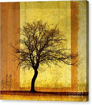 Solitary Canvas Print by Elena Nosyreva