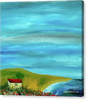Expressionist Canvas Print - Solitary Skies by Jamie Lajoie