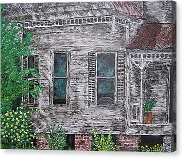 Solitude Awaits Canvas Print by Ricklene Wren