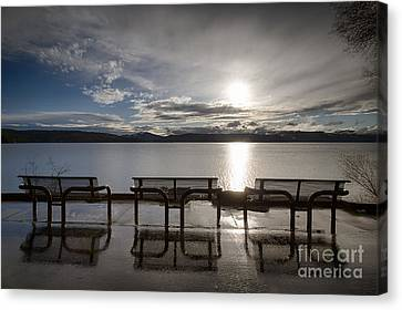 Solitude Canvas Print by Idaho Scenic Images Linda Lantzy